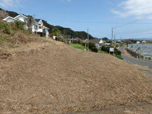 千葉県南房総市和田町花園の土地、売地、海一望、海が見える、別荘用途に適した環境です