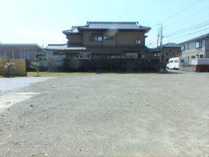 千葉県館山市北条の不動産、土地、北条海岸近く、ほぼ四角い整形地です