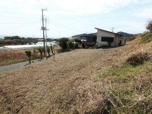 千葉県南房総市和田町花園の土地、売地、海一望、海が見える、海面の間口が広いのも良い