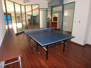 千葉県館山市洲崎ロイヤルマンション、海一望別荘、卓球コーナーもある