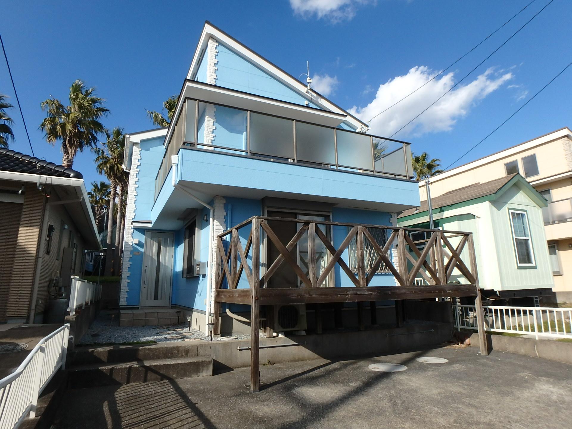 千葉県鴨川市の不動産、海一望別荘、海の近くの環境、ご商談中