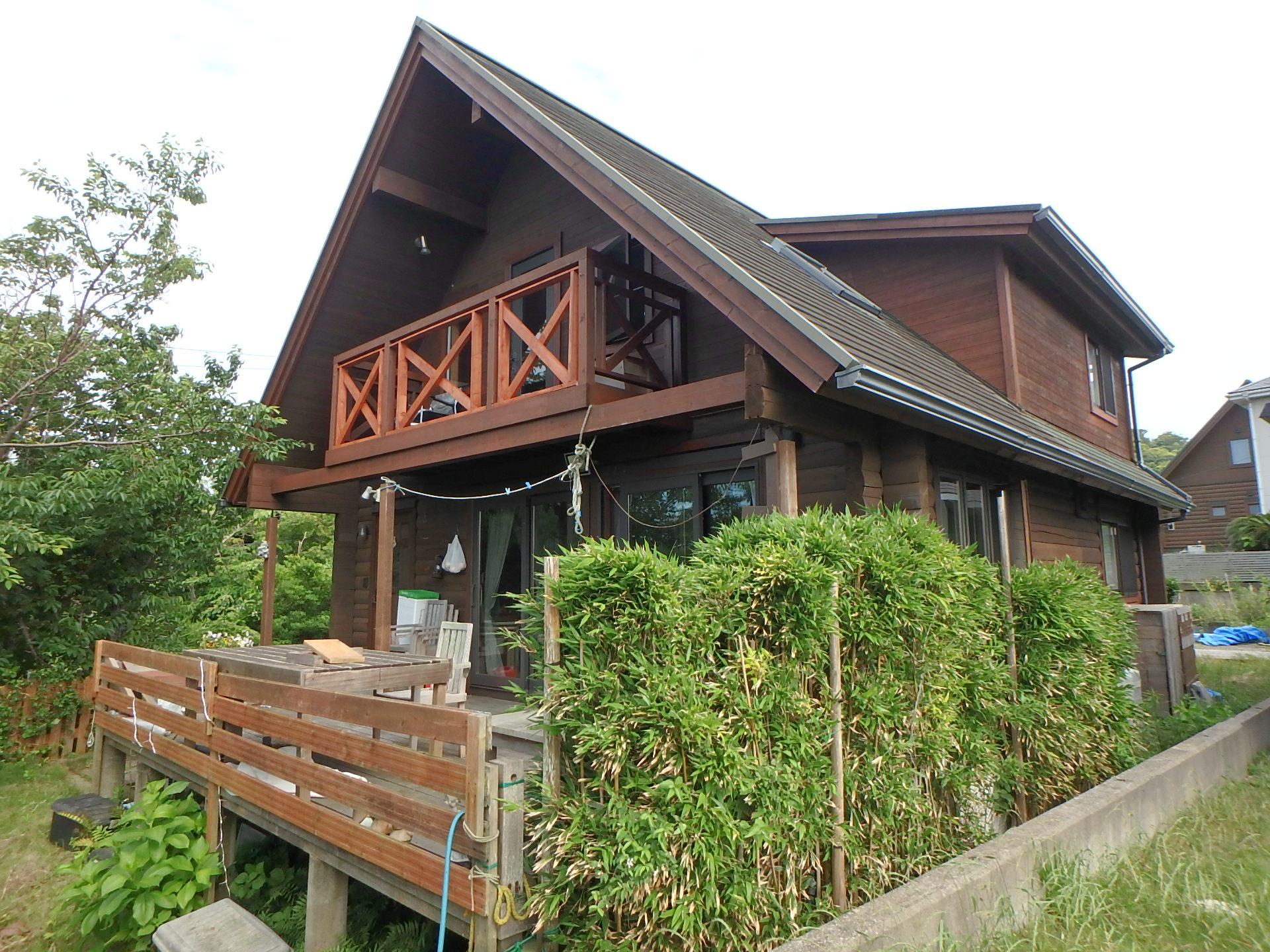 千葉県館山市の海望むログハウス、新着情報