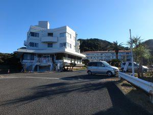 千葉県館山市洲崎のマンション、洲崎ロイヤル、海が見える別荘、家族で過ごす館山の海拠点