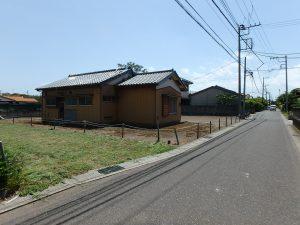 千葉県館山市国分の不動産、土地、別荘用地、接道は館山市道