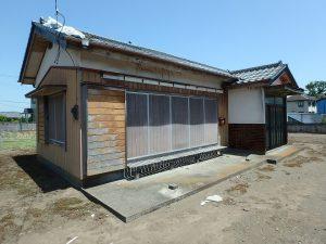 千葉県館山市国分の不動産、土地、別荘用地、現況は古家あり