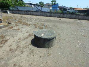 千葉県館山市国分の不動産、土地、別荘用地、井戸もありました