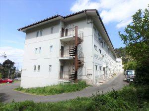 千葉県館山市洲崎のマンション、洲崎ロイヤル、海が見える別荘、3階建の団地スタイル