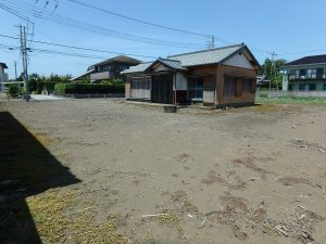 千葉県館山市国分の不動産、土地、別荘用地、ゆったり敷地は159坪