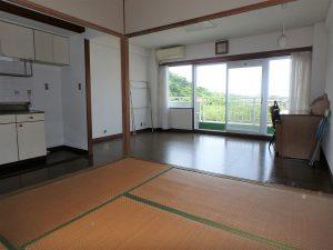 千葉県館山市洲崎のマンション、洲崎ロイヤル、海が見える別荘、マリンレジャーのプチ拠点