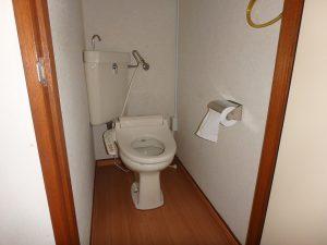 千葉県館山市洲崎のマンション、洲崎ロイヤル、海が見える別荘、隣接して単独のトイレ