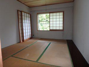 千葉県館山市洲崎のマンション、洲崎ロイヤル、海が見える別荘、板の間が付く6帖