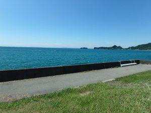 千葉県南房総市高崎の別荘、ハーバーアイランド岩井、海目の前、気持ちが良い海の環境