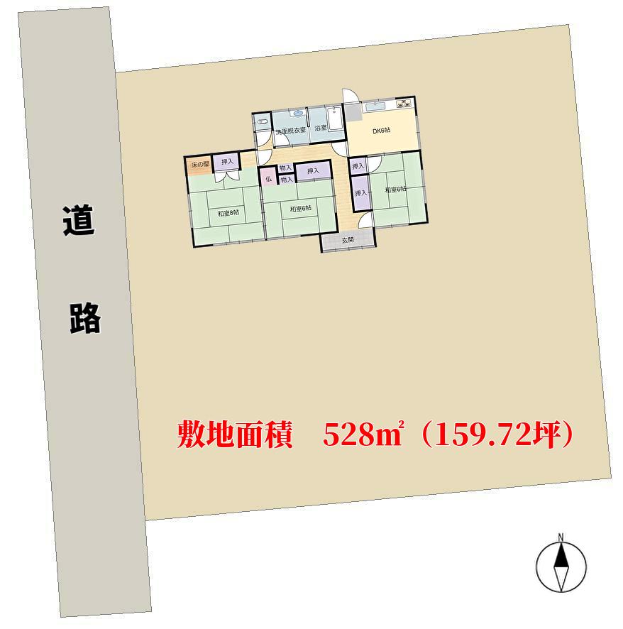 千葉県館山市国分の不動産、売地、土地