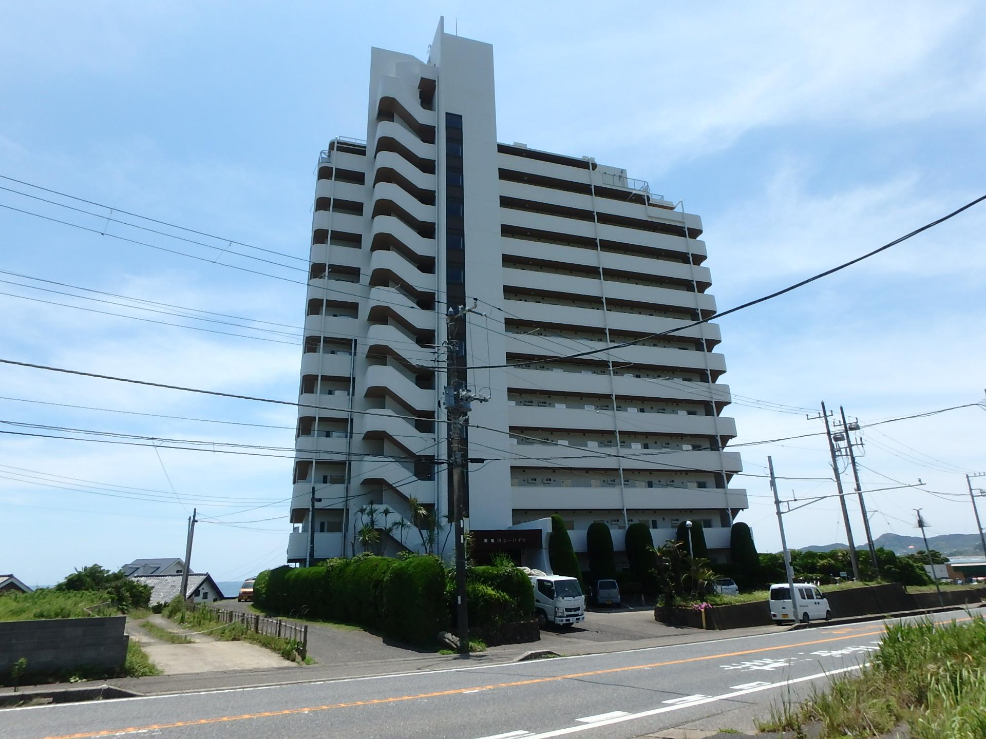 千葉県鴨川市江見青木のマンション、南鴨川シーハイツ、海が見える物件新着