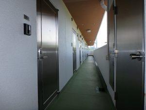 千葉県鴨川市江見青木の不動産、マンション、南鴨川シーハイツ、海望む、10階に着きました