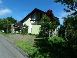 千葉県鴨川市二子の不動産、海が見える別荘、二子棚田、おしゃれ、近隣には別荘がチラホラ