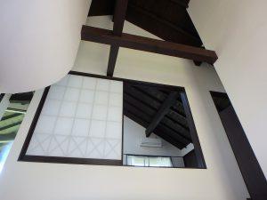 千葉県鴨川市二子の不動産、海が見える別荘、二子棚田、おしゃれ、なんだか凝った造り