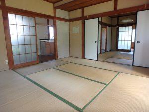 千葉県館山市上真倉の不動産、中古住宅、平家、田舎暮らし、和の落ち着いた感じも良い