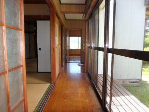 千葉県館山市上真倉の不動産、中古住宅、平家、田舎暮らし、広縁もあると良いですね