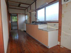 千葉県館山市上真倉の不動産、中古住宅、平家、田舎暮らし、ワイドスペースです