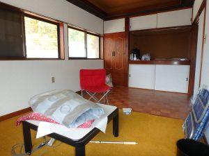 千葉県安房郡鋸南町勝山の不動産、中古住宅、海が近い、釣り別荘、この洋室は7帖半です