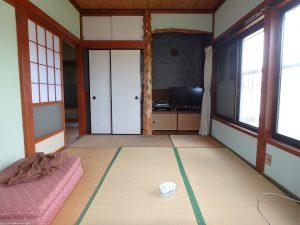 千葉県安房郡鋸南町勝山の不動産、中古住宅、海が近い、釣り別荘、ご立派な床の間がある