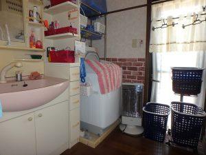 千葉県鴨川市太尾の不動産、戸建て、鴨川移住、1階洗面脱衣室