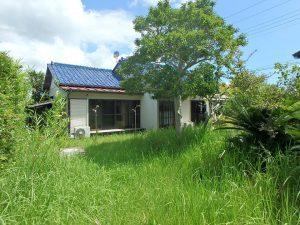 千葉県館山市上真倉の不動産、中古住宅、平家、田舎暮らし、庭いじりも出来ますね