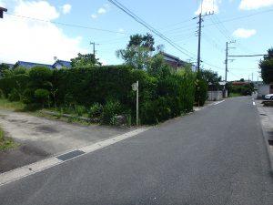 千葉県館山市上真倉の不動産、中古住宅、平家、田舎暮らし、生活便利な立地です