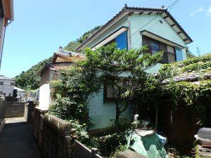千葉県安房郡鋸南町勝山の不動産、中古住宅、海が近い、釣り別荘、残念ながら車は行かない