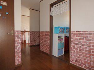 千葉県鴨川市太尾の不動産、戸建て、鴨川移住、廊下に2帖の納戸