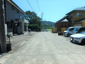 千葉県鴨川市太尾の不動産、戸建て、鴨川移住、接道は持分のある私道