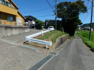 千葉県鴨川市太尾の不動産、戸建て、鴨川移住、公道からのアプローチ