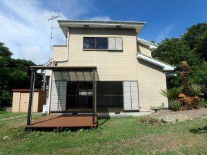 千葉県館山市神余の不動産、山の中の別荘、富士山望む、室内リフォーム済できれい