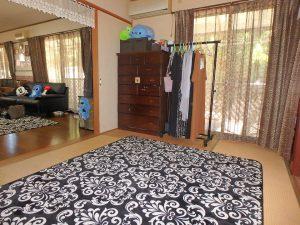 千葉県鴨川市太尾の不動産、戸建て、鴨川移住、まずは和室の様子です