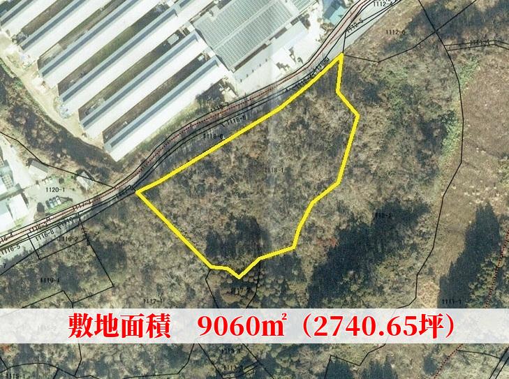 千葉県君津市山滝野の不動産、山林土地、キャンプ、事業用途