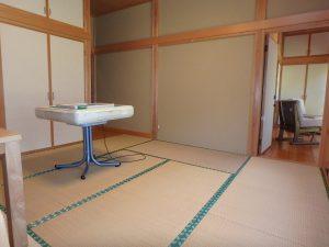 千葉県館山市神余の不動産、平家別荘、敷地広い、ドッグラン、先程の広縁にもつながる