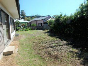 千葉県富津市六野の不動産、田舎暮らし向き平家、移住、敷地は130坪とゆったり