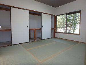 千葉県富津市六野の不動産、田舎暮らし向き平家、移住、壁や天井クロスも交換