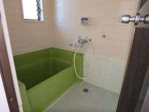 千葉県富津市六野の不動産、田舎暮らし向き平家、移住、浴室です