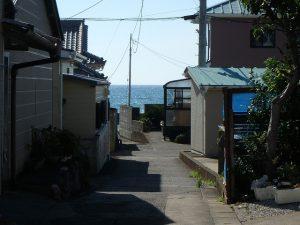 千葉県館山市船形の不動産、リフォーム済み戸建て、釣りの拠点、見えてきました