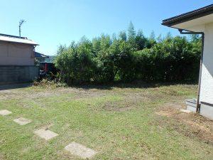 千葉県富津市六野の不動産、田舎暮らし向き平家、移住、庭は南側にスペースがあり