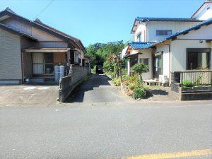 千葉県富津市六野の不動産、田舎暮らし向き平家、移住、一番奥の立地です
