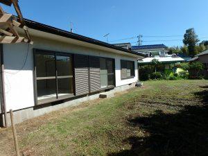 千葉県富津市六野の不動産、田舎暮らし向き平家、移住、陽当りも良好!